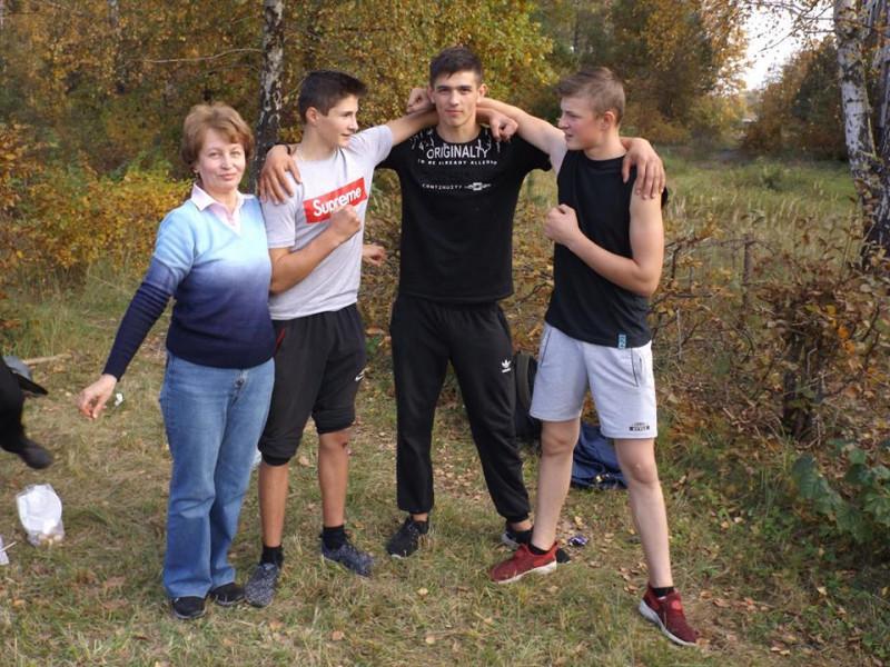 У Маневицькому ліцеї відзначили День Українського козацтва