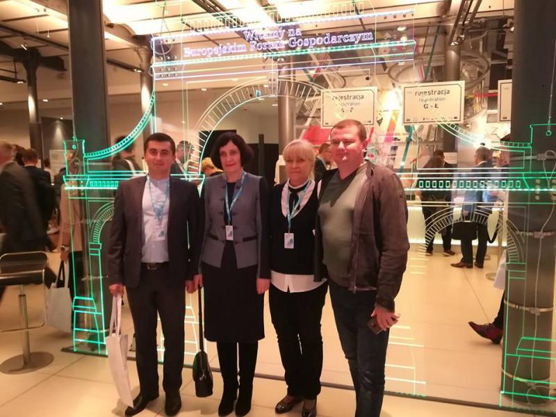 Маневичани взяли участь в Європейському форумі «Господарський Лодзь 2018»