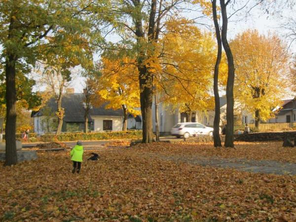 Маневичанка поділилася світлинами райцентру в осінню пору року