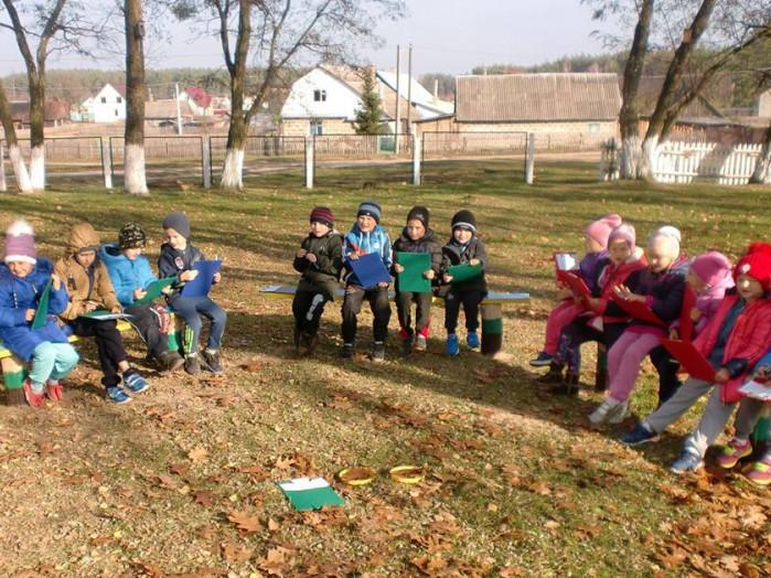 Учні Череваського навчально-виховного комплексу