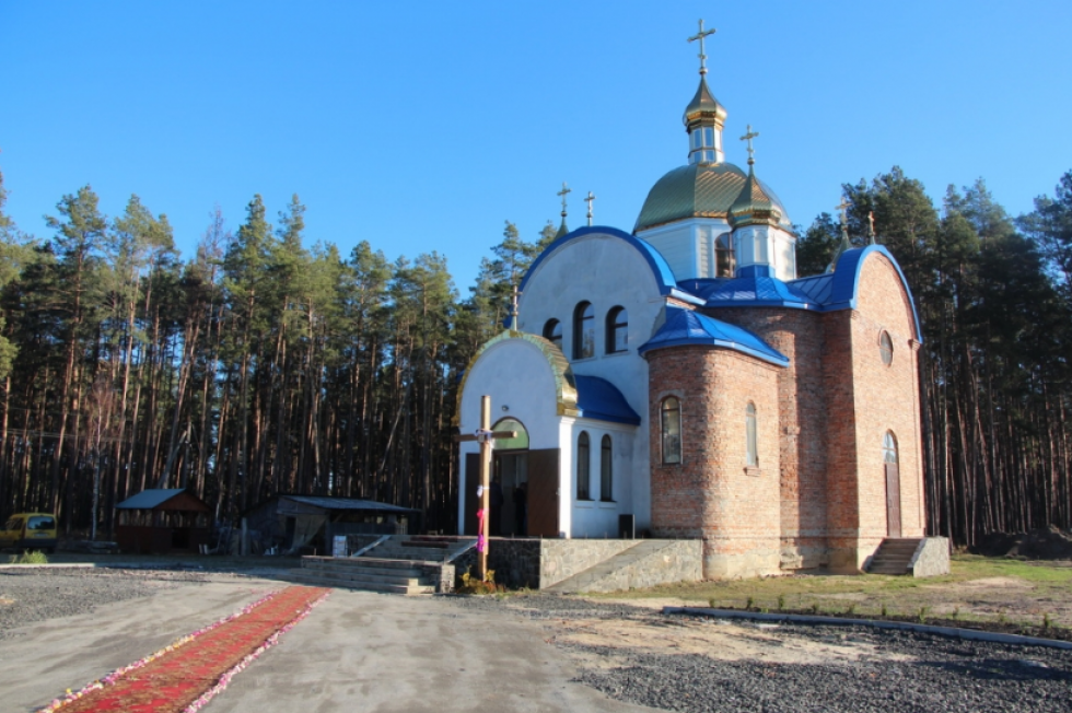 Освятили Маневицький новозбудований храм