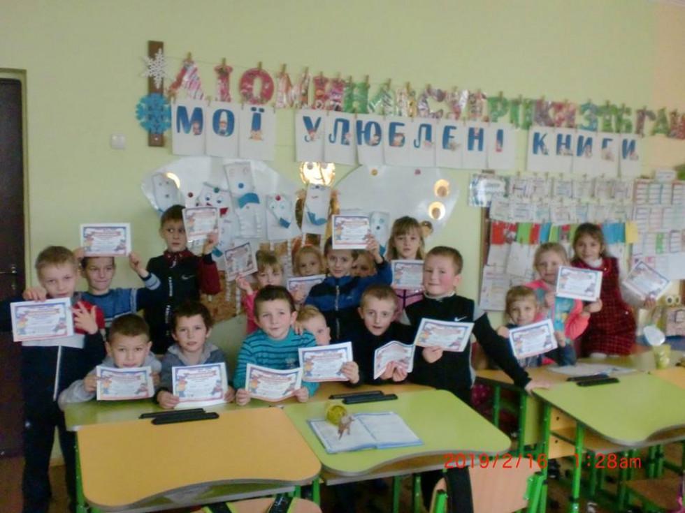 Першокласники з Черевахи створили моніторинг свіжопрочитаних книг