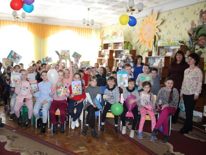 У маневицькій бібліотеці провели закриття Тижня дитячого читання «Книжчині іменини»