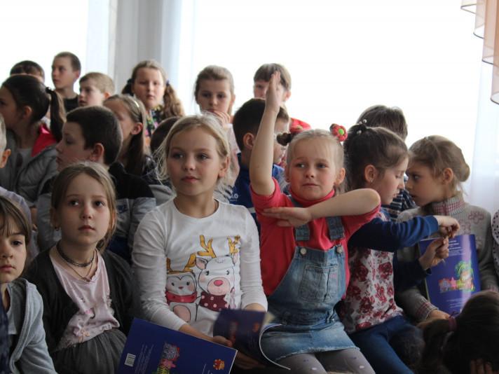 Маневичани зустрілись із редактором дитячого журналу «Малятко»