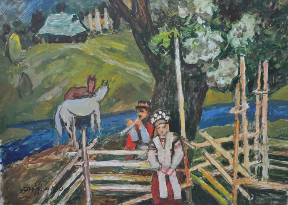 27 липня народився Данило Довбошинський – живописець і педагог