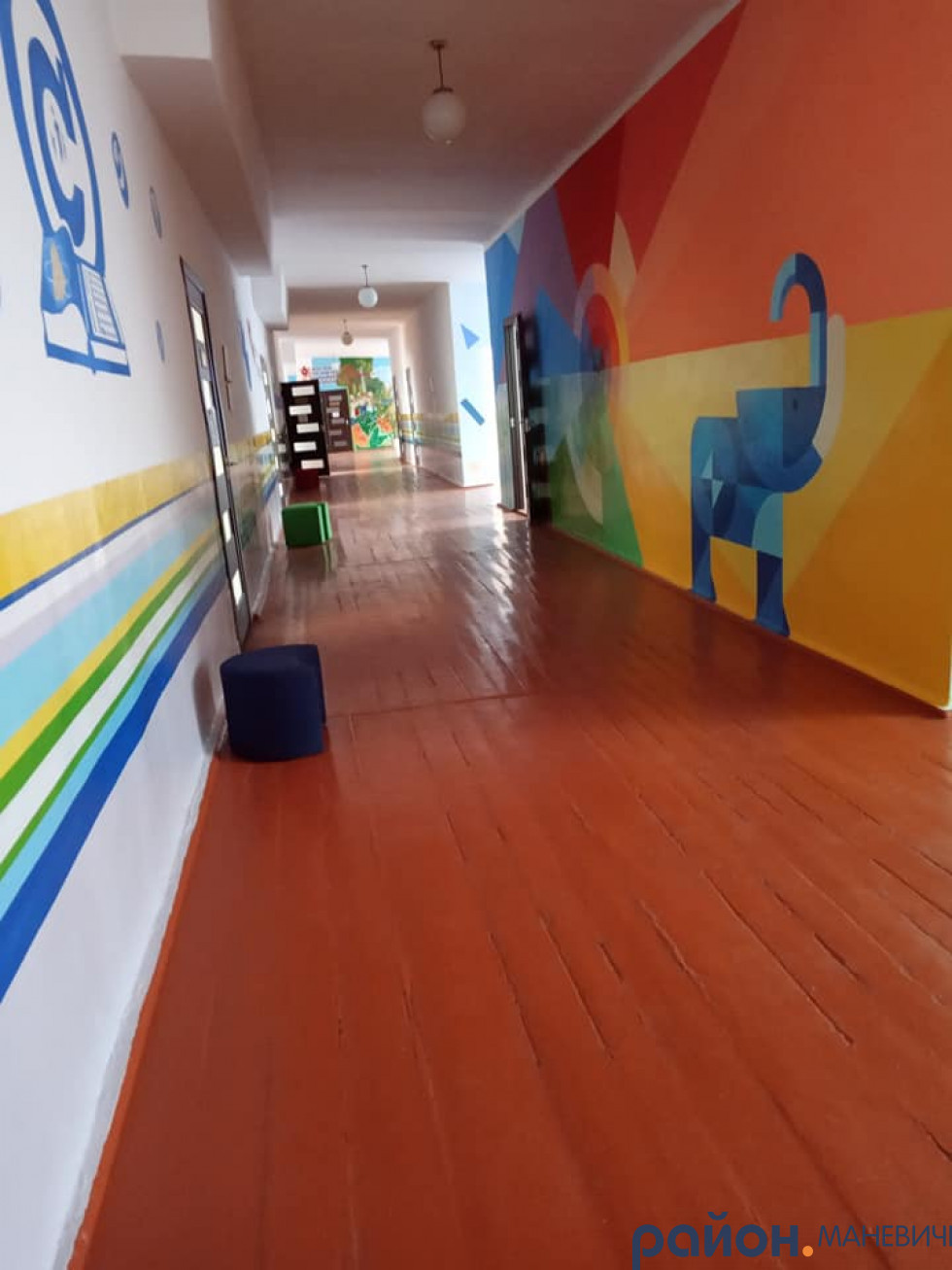 У Маневицькому районі показали світлини школи, якій 47 років