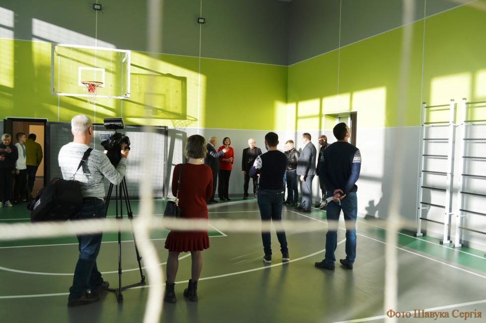 У Колківській школі відкрили спортивний зал після капітального ремонту