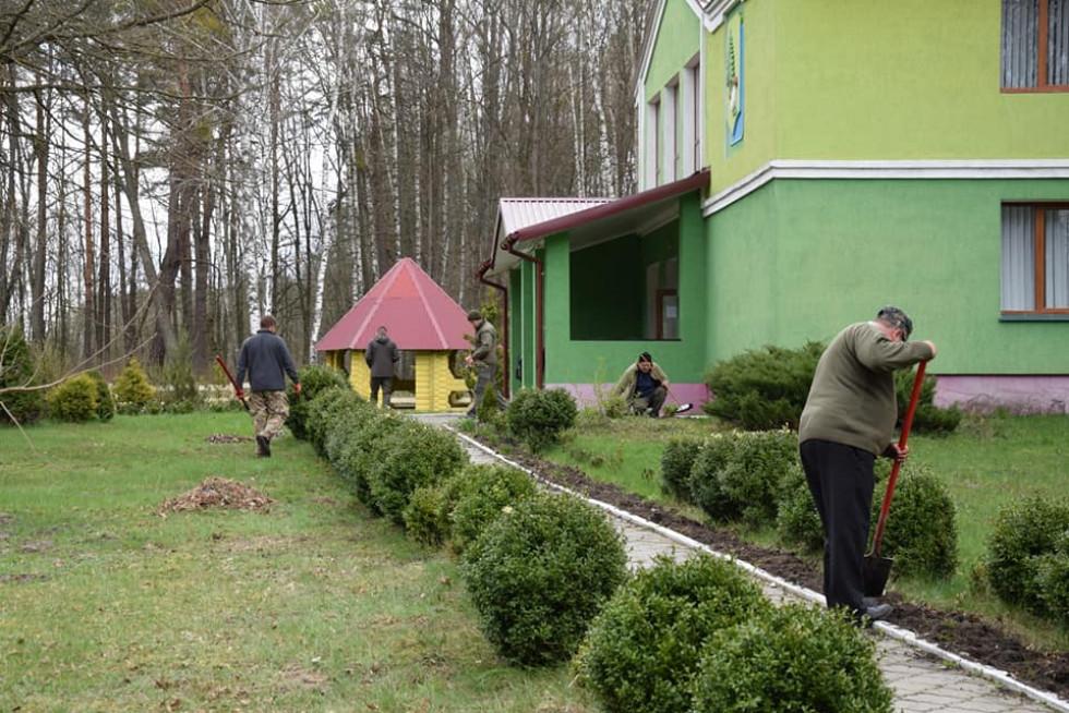 У Маневицькій громаді відбулись заходи з благоустрою