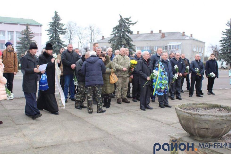 У Маневичах відзначили воїнів-інтернаціоналістів