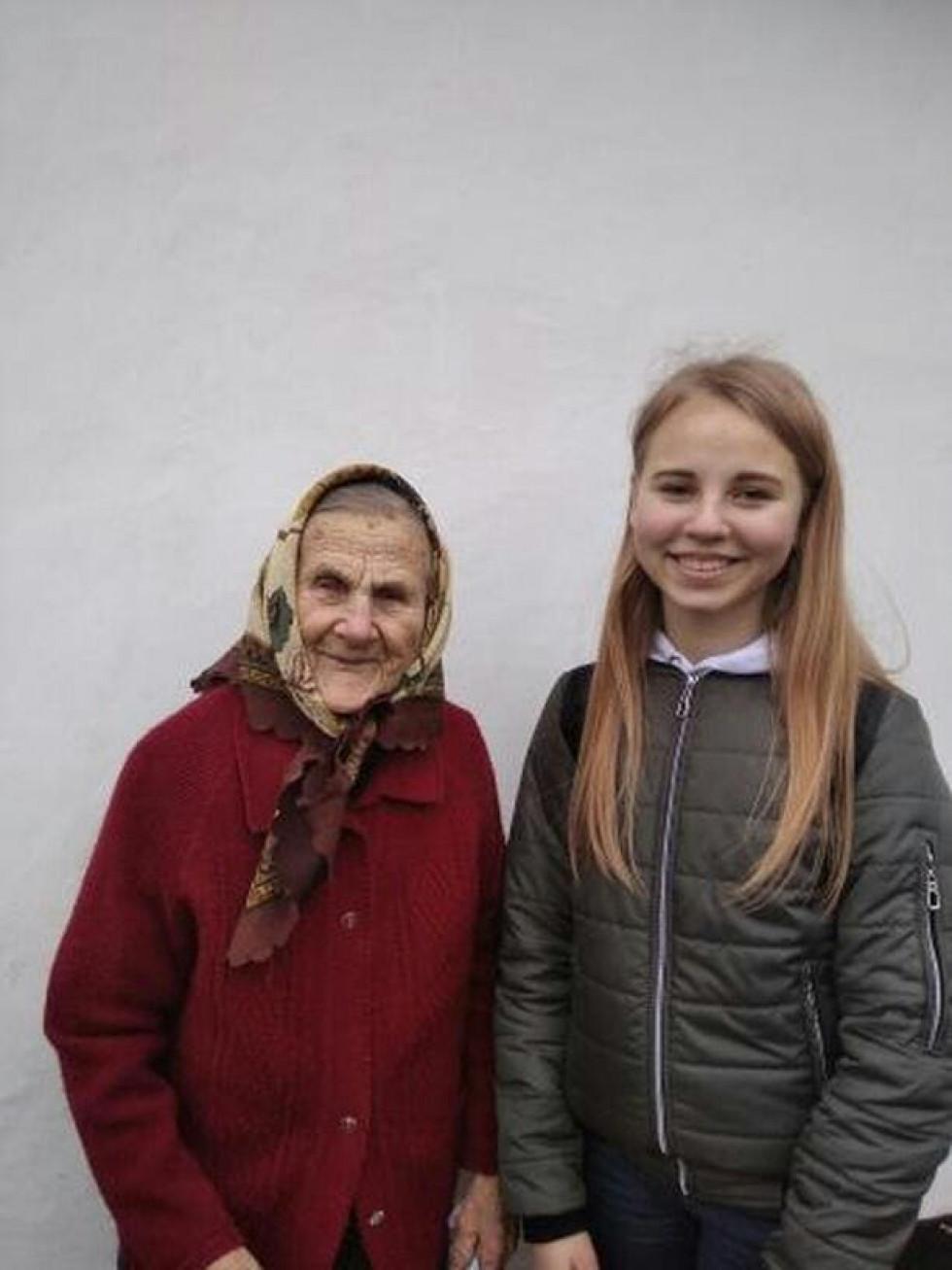 Привітання вдів ветеранів Другої Світової Війни