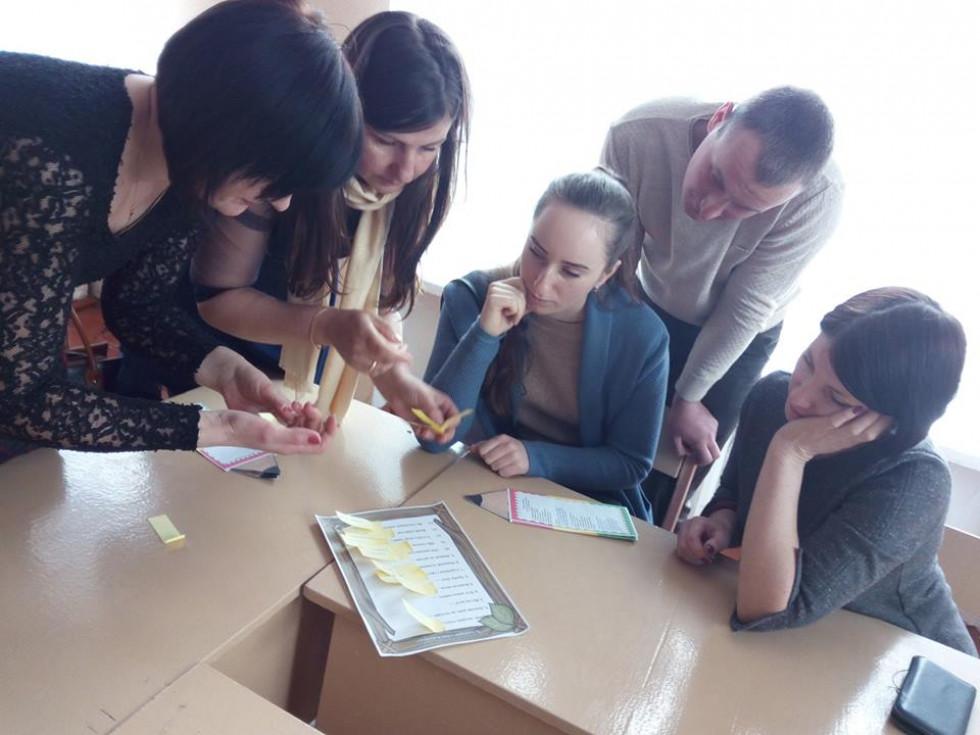 На Маневиччині провели семінар вчителів трудового навчання