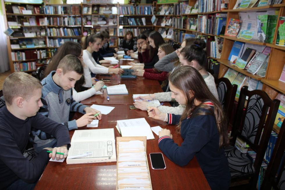 У маневицькій бібліотеці провели урок на тему «Бібліографічний опис»