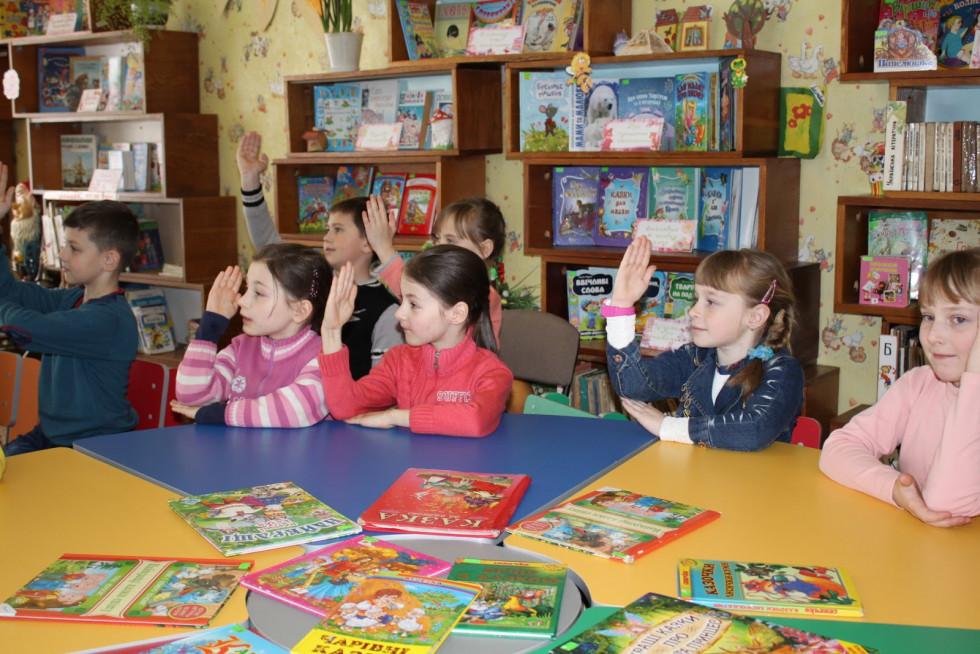 У маневицькій бібліотеці провели Всеукраїнський тиждень читання
