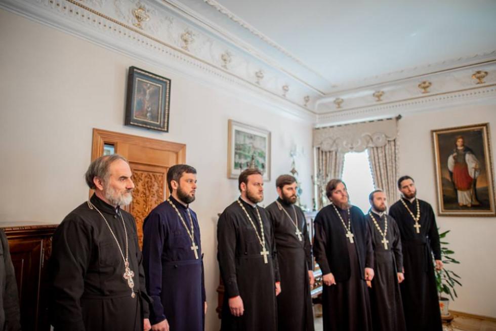 Священики з Волині їздили «на поклін» до митрополита Антонія