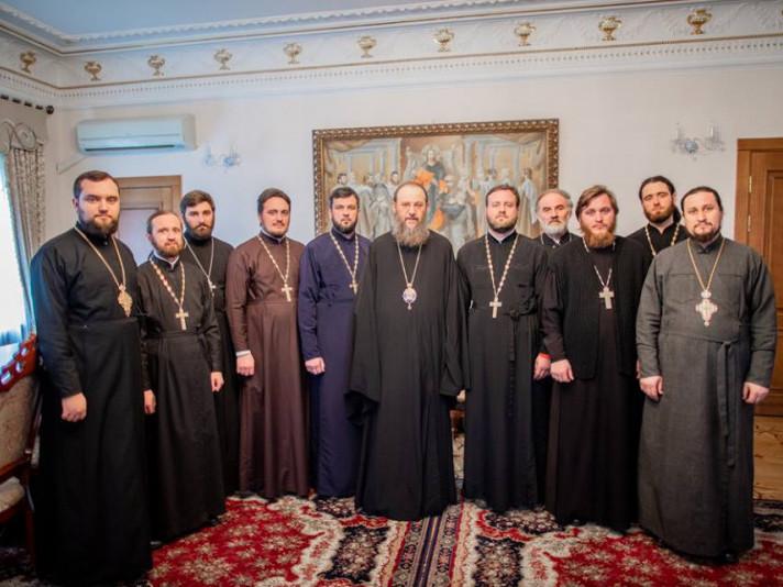 Священики з Маневиччини їздили «на поклін» до митрополита Антонія