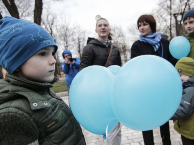 Маневичани підтримали дітей з аутизмом