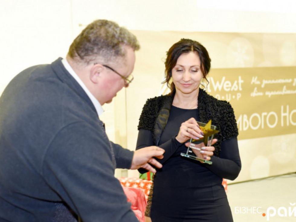 Інні Кондратюк вручили зірку