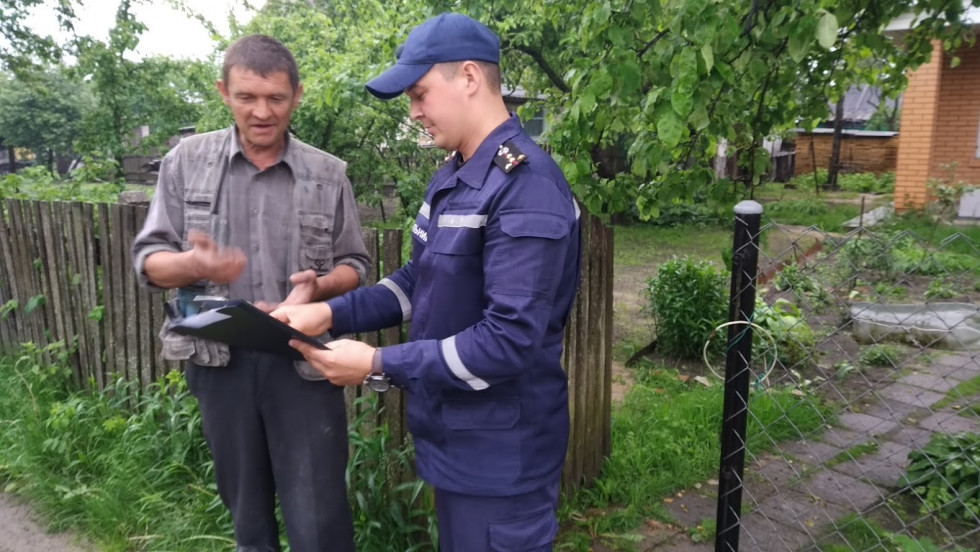 Жителів Маневиччини навчали правилам пожежної безпеки