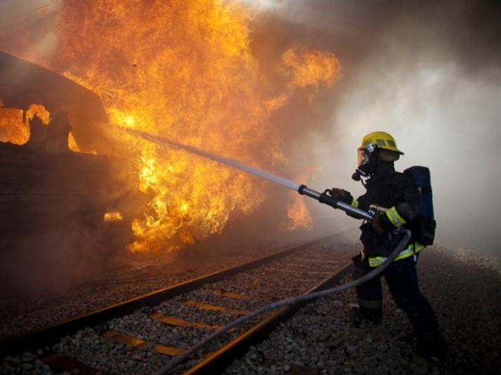 У Маневицькому районі на ходу загорівся потяг з пасажирами