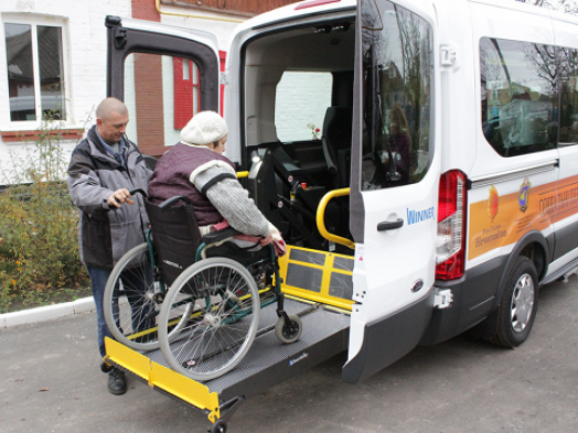 Малі міста Волині отримають авто для перевезення людей із інвалідністю