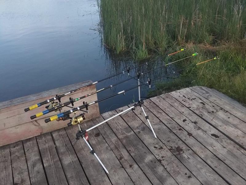 Маневицький рибалка показав як ловити на донне оснащення