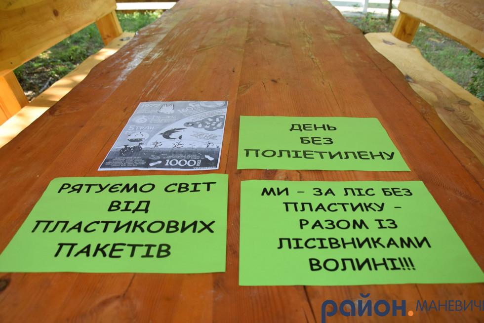 Маневичани долучились до Міжнародного флешмобу «День без поліетилену»