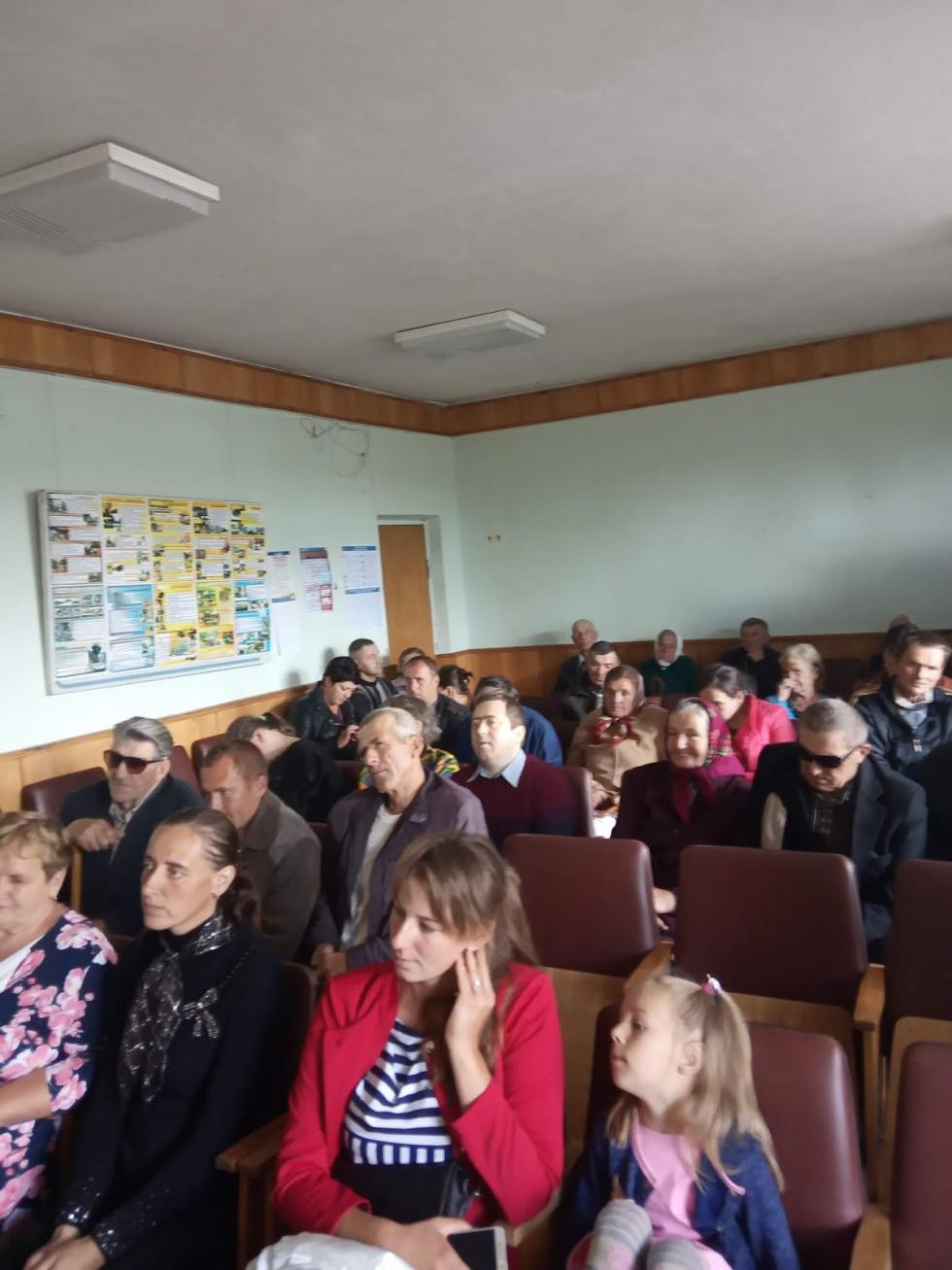 У Маневичах організували літературну зустріч «Слово опромінене талантом»