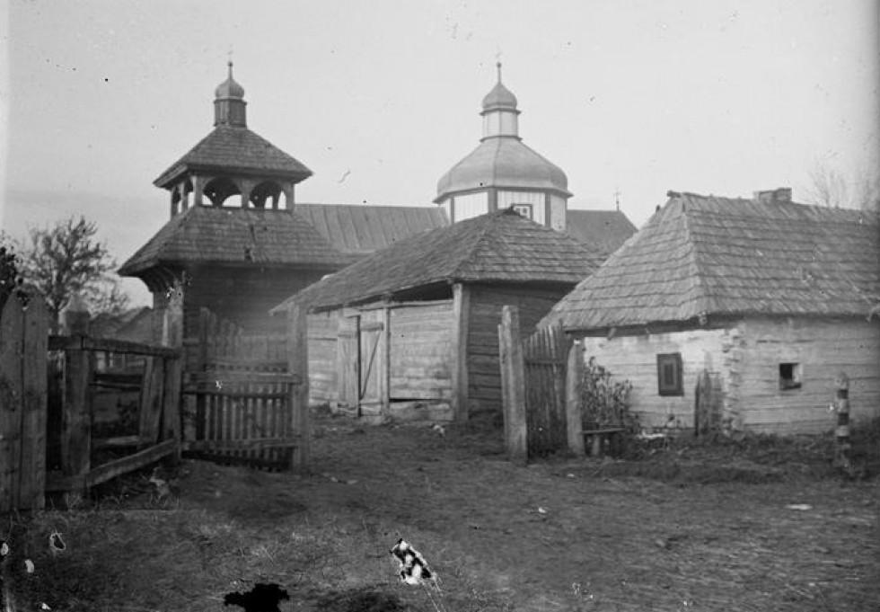 Як виглядав храм в Оконську сто років тому