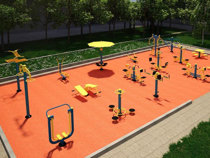 На Маневиччині збудують мультифункціональні спортивні майданчики