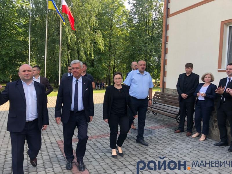 Голова Маневицької РДА зустрівся із спікером Польського Сенату