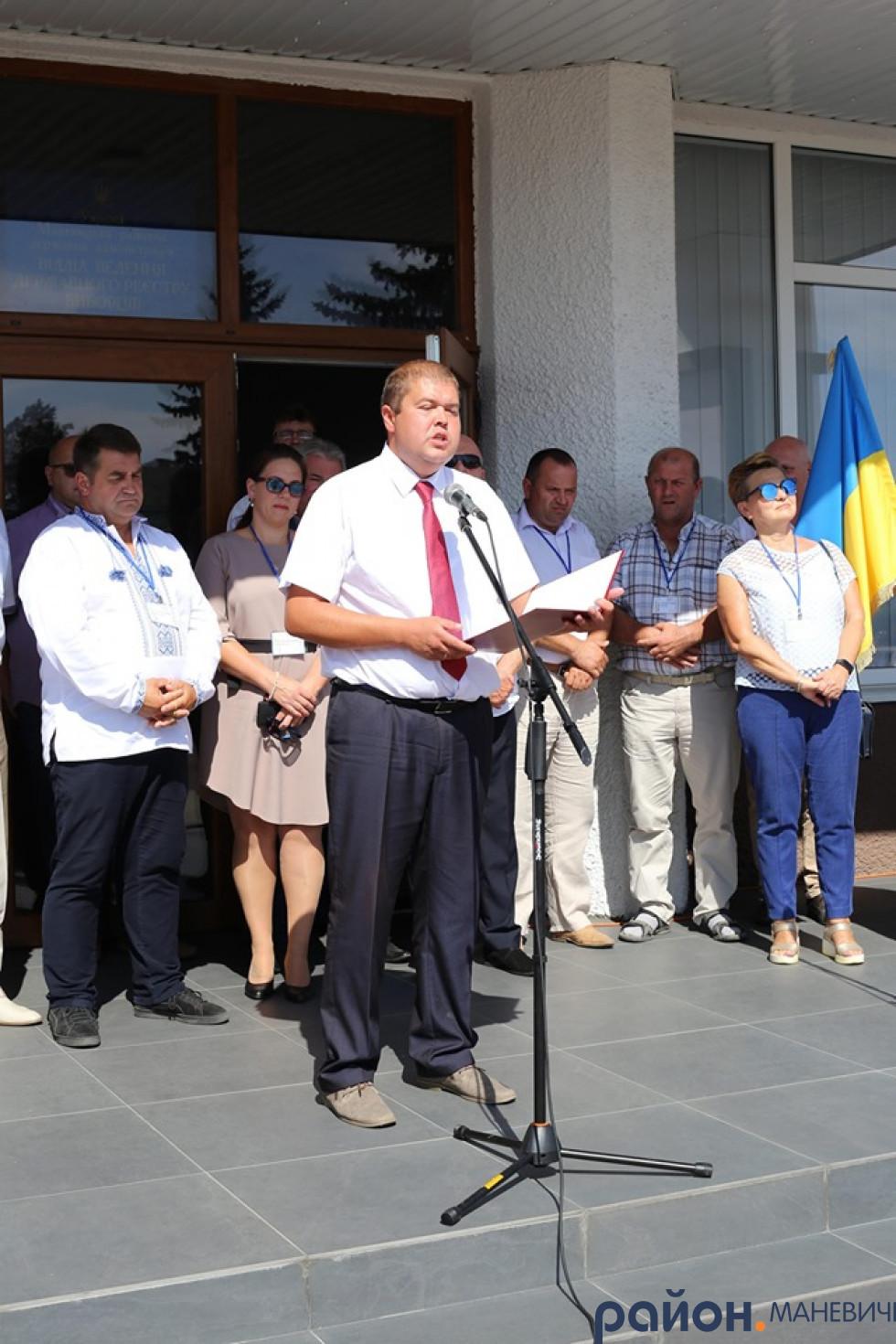 На святкування Дня Незалежності в Маневичах побували делегації із Литви, Польщі та Білорусі