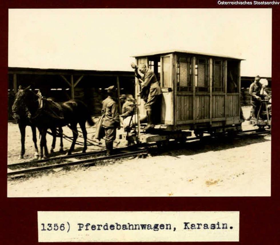 Світлини з Карасина часів Першої світової війни