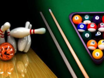 В «Адреналіні» пропонують «Грай у більярд – догравай у боулінг»