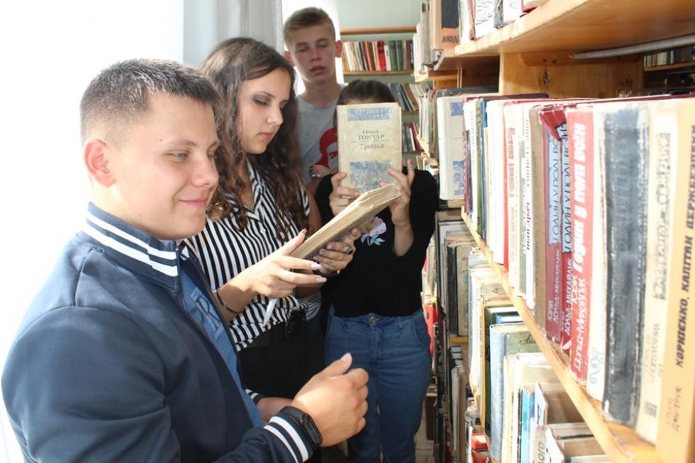 Маневицьким школярам організували бібліоквест