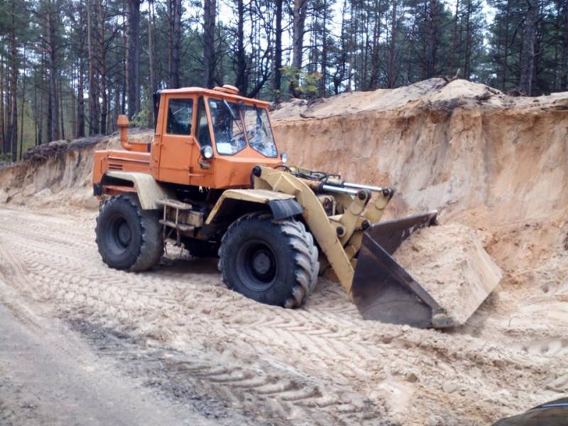 У Маневицькому районі припинили незаконний видобуток піску