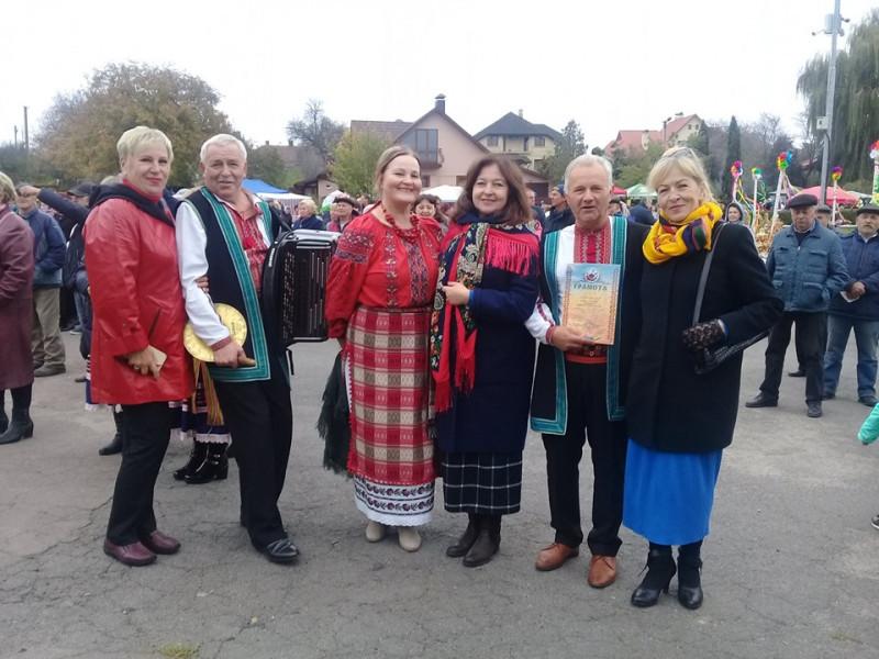 Музичні колективи Маневиччини взяли участь у фестивалі «Український коровай-сузір'я»