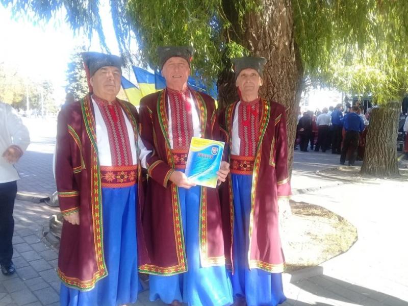 Музичні колективи Маневиччини взяли участь у фестивалі повстанської пісні