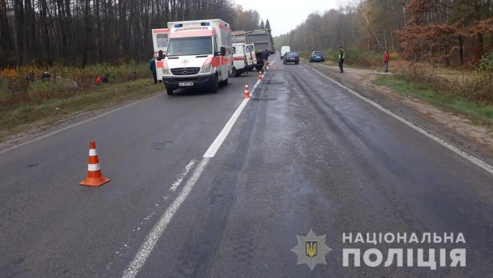 У ДТП на Маневиччині загинула пасажирка авто