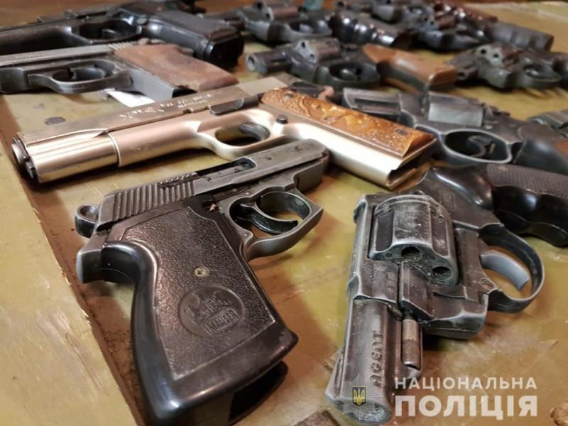 На Волині закінчився місяць добровільної здачі зброї