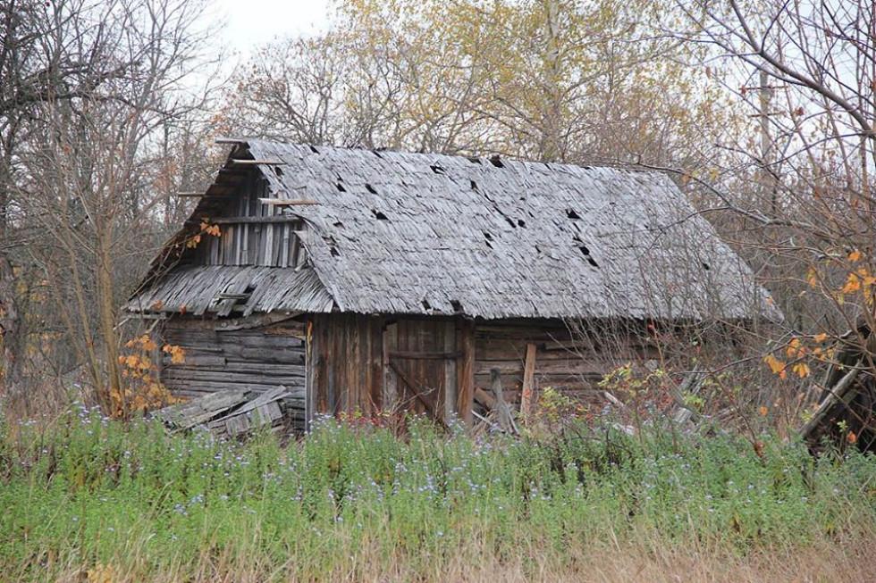 Старий хлів в Градиську