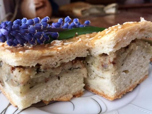 Рецепт пиріжків з капустою та картоплею