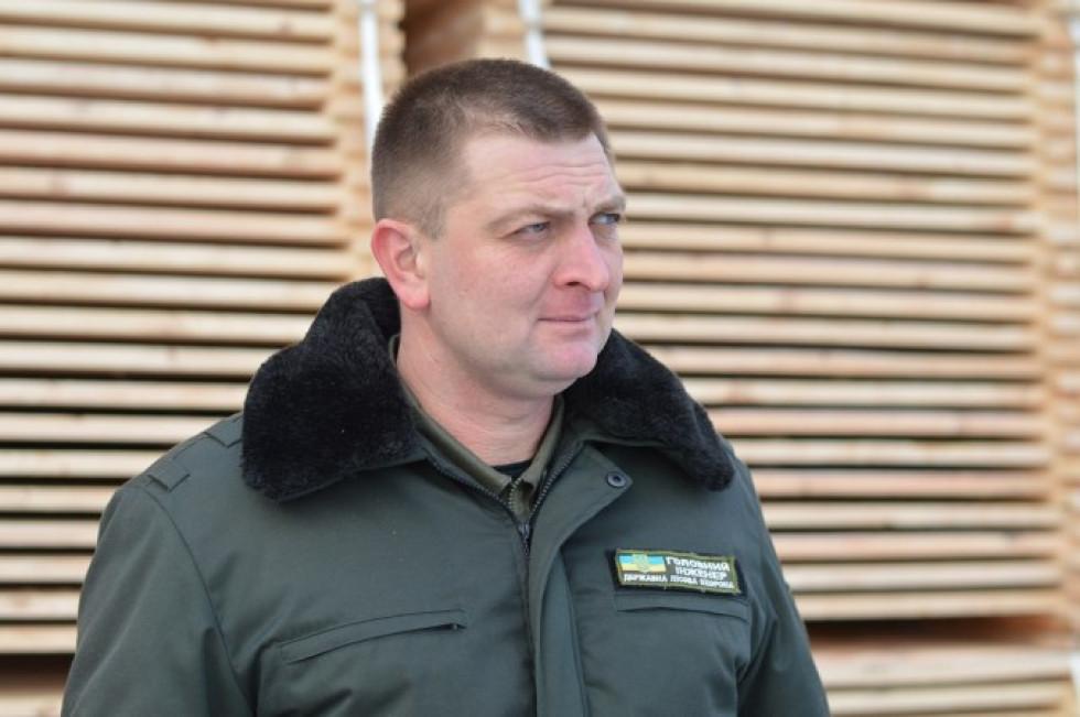 Головний інженер державного підприємства «Городоцьке лісове господарство» Олександр Крисик