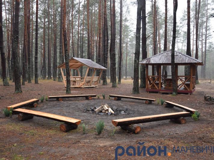 У Маневицькому районі відновили рекреаційний пункт біля Польського цвинтару