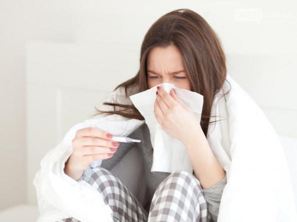 На Волині побільшало хворих на грип та ГРВІ