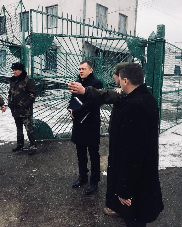 Маневицьку виправну колонію перевірив прокурор Волині