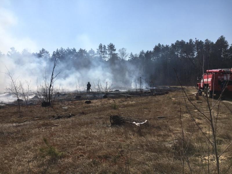 На Волині продовжують ліквідовувати пожежі в екосистемах