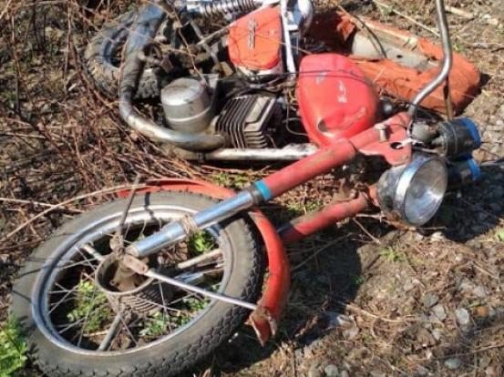 Калинівського мотоцикліста оштрафували на 10 тисяч гривень
