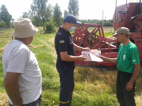 Жителям Маневиччини нагадали про штрафи, які збільшили за випалювання стерні