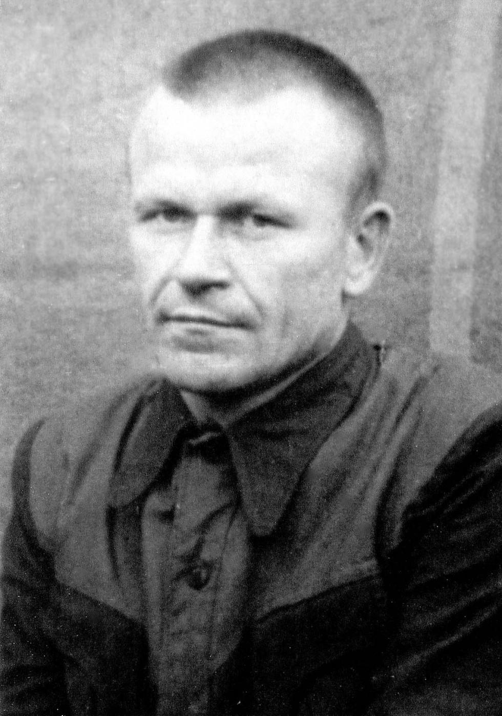Омелян Суничук під час ув'язнення в ГУЛАГу