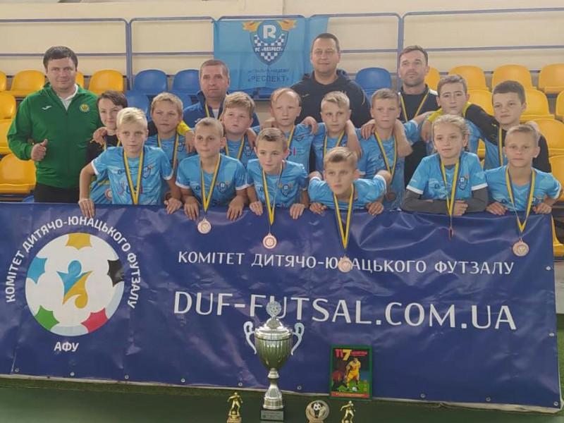 Маневицький «Respect» U-13 здобув бронзу в Кубку України